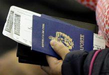 Giấy tờ cần thiết khi đi máy bay