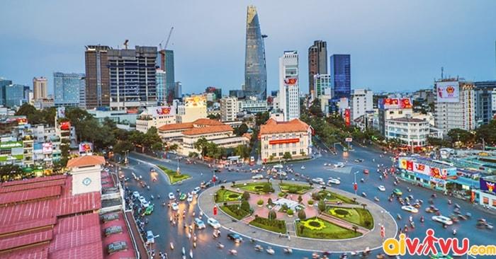 Mua vé máy bay đi Sài Gòn 2018