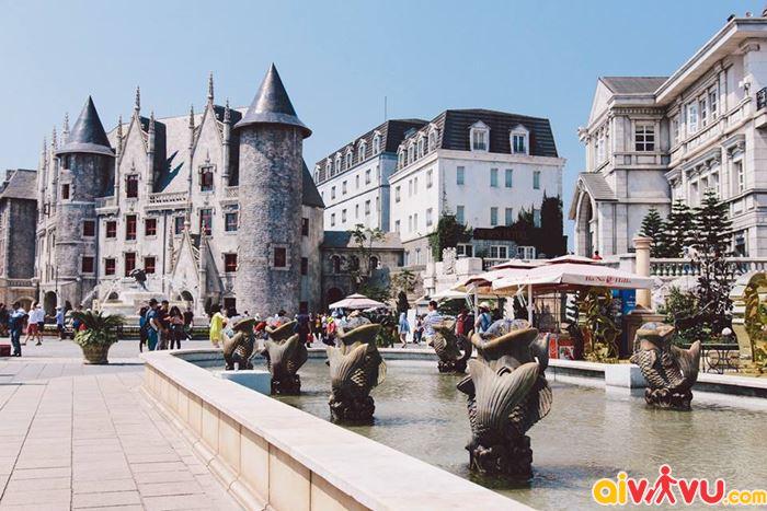 Khu làng Pháp được mệnh danh là châu Âu trên đỉnh Bà Nà