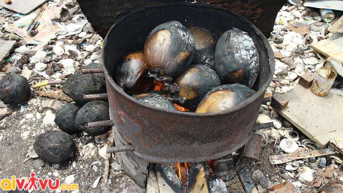 Kem dừa món ăn gây ấn tượng với rất nhiều bạn bè thế giới