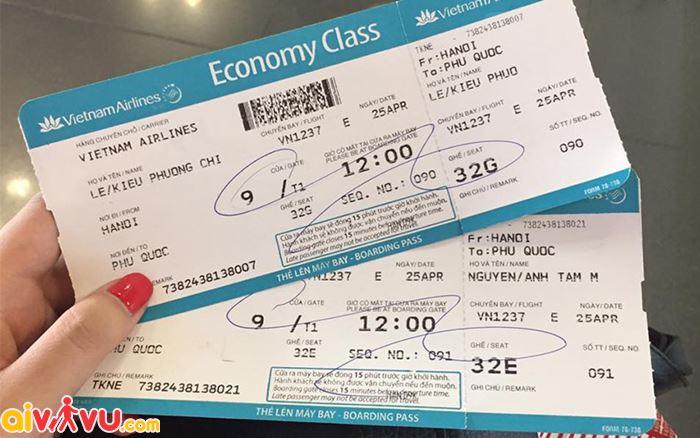 Cách xử lý khi làm mất vé máy bay