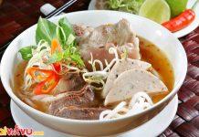 Bún bò Huế được xem là linh hồn ẩm thực