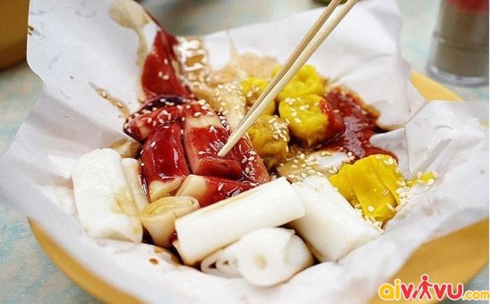 Bánh cuốn nhân Cheaong Fun