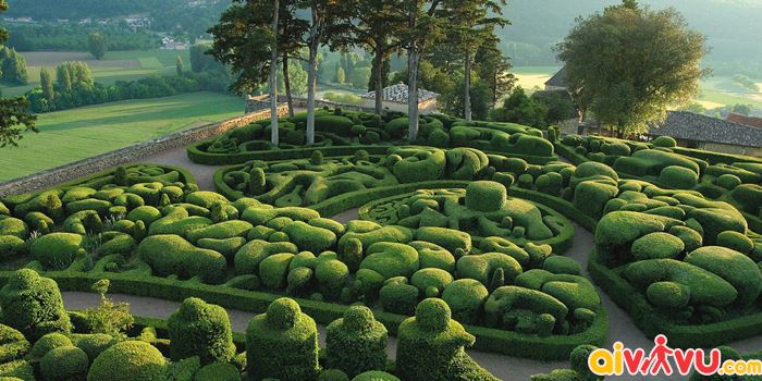 Vườn Marqueyssac, Dordogne