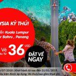 Air Asia mở bán vé khuyến mại từ 36 USD
