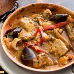 Món Caldeirada de peixe là món canh được hầm từ hải sản