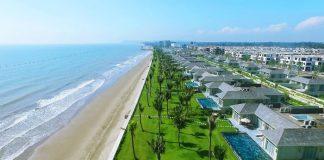 Bãi biển Sầm Sơn với cảnh sắc thiên nhiên trù phú