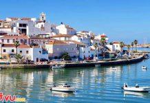 Thành phố yên bình Algarve