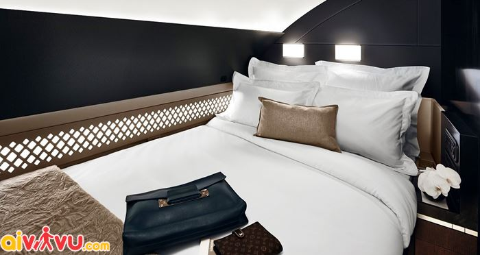 Khoang hạng nhất Singapore Airlines