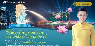 Khuyến mại Vietnam Airlines