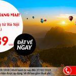 Hà Nội đến Chiang Mai với giá vé một chiều chỉ từ 39 USD
