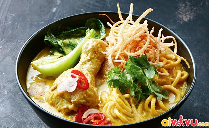 Khao Soi món tiêu biểu nhất của Chiang Mai