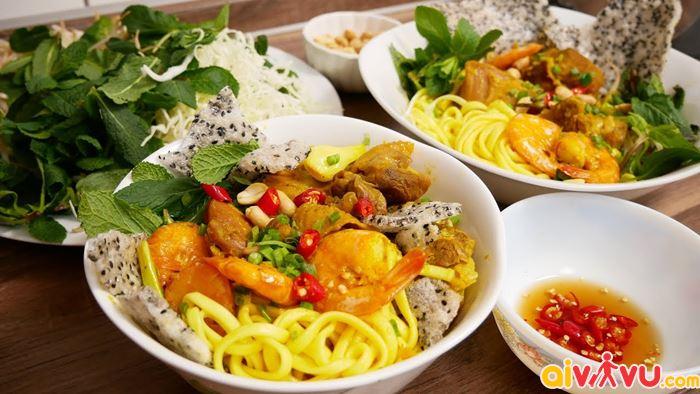 Mì quảng một trong những món ăn được yêu thích tại Đà Nẵng