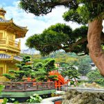 Vườn Nan Lian được ví như một ốc đảo xanh