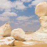 Những khối đá vôi ở Sa mạc trắng