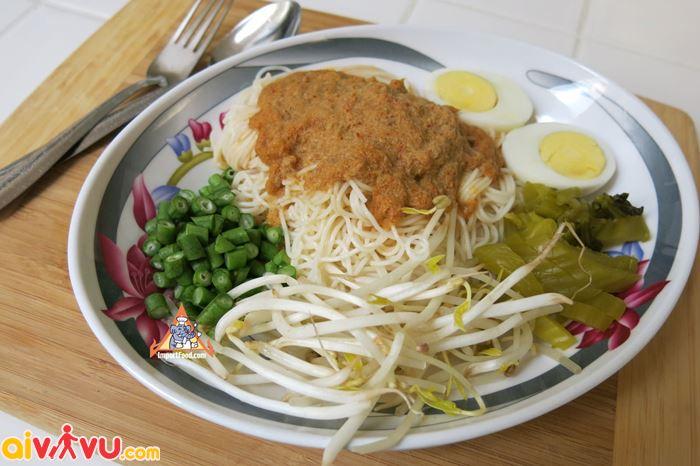 Mì lên men món ăn hấp dẫn tại Chiang Mai