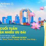 Khuyến mãi vé máy bay vào cuối tuần từ Vietnam Airlines