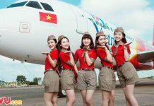 Mừng chuyến bay đầu tiên từ Nha Trang - Đà Nẵng của Vietjet Air