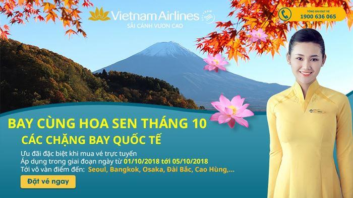 5 ngày vàng từ Vietnam Airlines vé máy bay siêu rẻ