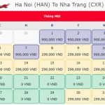 Vé máy bay 0 đồng từ Hà Nội đi Nha Trang