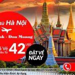 Từ Hà Nội đến Don Muang cùng Air Asia chỉ với 42 USD