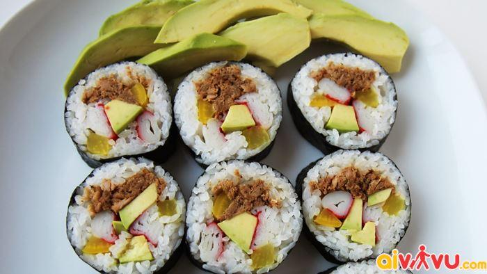 Gimbap món ăn phổ biến của Hàn Quốc