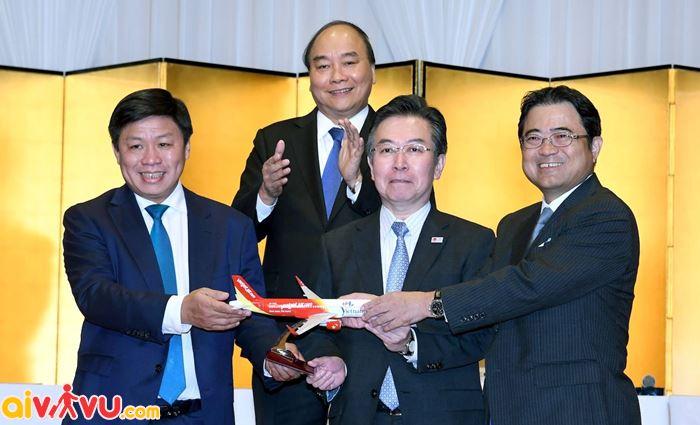 Vietjet Air Khai trương 3 đường bay kết nối Việt Nam – Nhật Bản