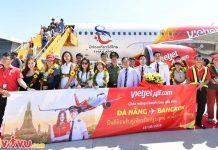 Khai trương chuyến bay đầu tiên Đà Nẵng – BangKok
