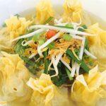 Mì Hoành thánh món ăn nổi tiếng tại Quảng Châu