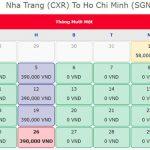 Vé máy bay 0 đồng Nha Trang Hồ Chí Minh