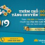 Vé máy bay dịp tết Nguyên Đán Kỷ Hợi 2019