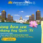 Bay quốc tế cùng Vietnam Airlines chỉ từ 112 USD