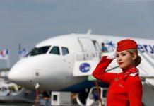 Tàu bay và tiếp viên của Aeroflot Airlines