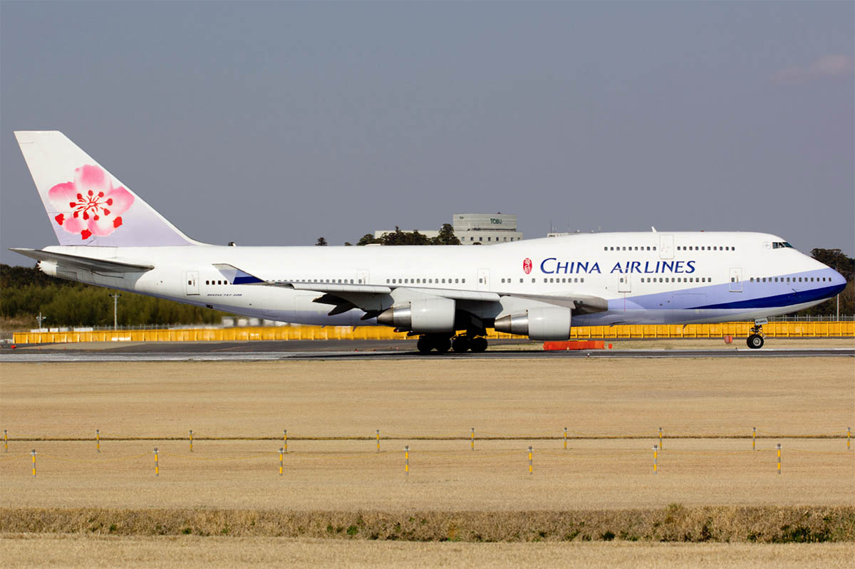 Boeing 747-400 của China Airlines