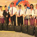 Tiếp viên và cơ trưởng của Malindo Air