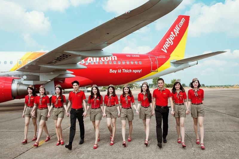 Đội bay của Vietjet Air