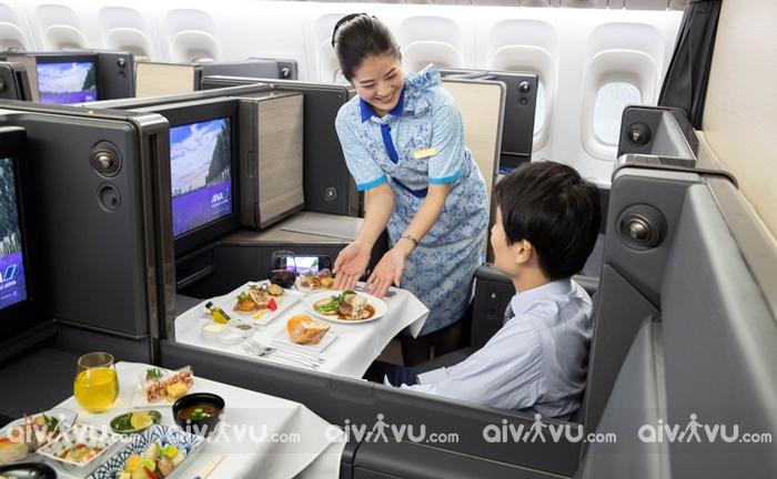 Thông tin về hạng ghế của All Nippon Airways