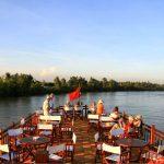 Du thuyền trên sông Mekong
