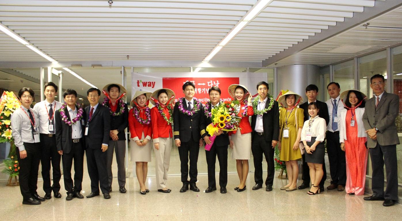 Khai trương đường bay từ Incheon đến Đà Nẵng