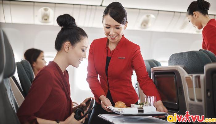 Hạng ghế và tiện ích của Dragon Air