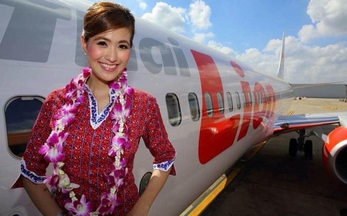 Nữ tiếp viên hàng không của Thai Lion Air