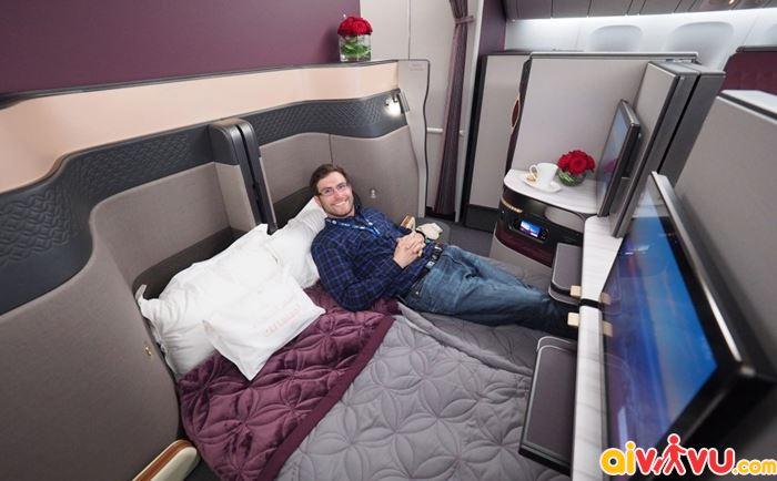 hạng thương gia Qatar Airways