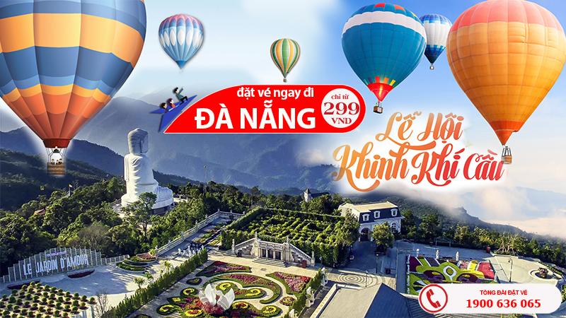 Giá vé máy bay Hồ Chí Minh đi Đà Nẵng tháng 12