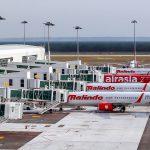 Mailindo Air trên sân bay Kuala Lumpur