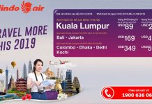 Tận hưởng ưu đãi từ Malindo Air với vé máy bay chỉ 36 USD