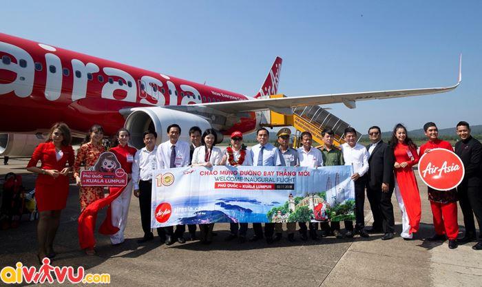 Khuyến mãi chào mừng đường bay mới từ Air Asia