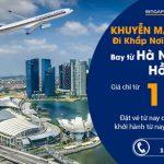 Chỉ 157 USD cùng Singapore Airlines khám phá thế giới