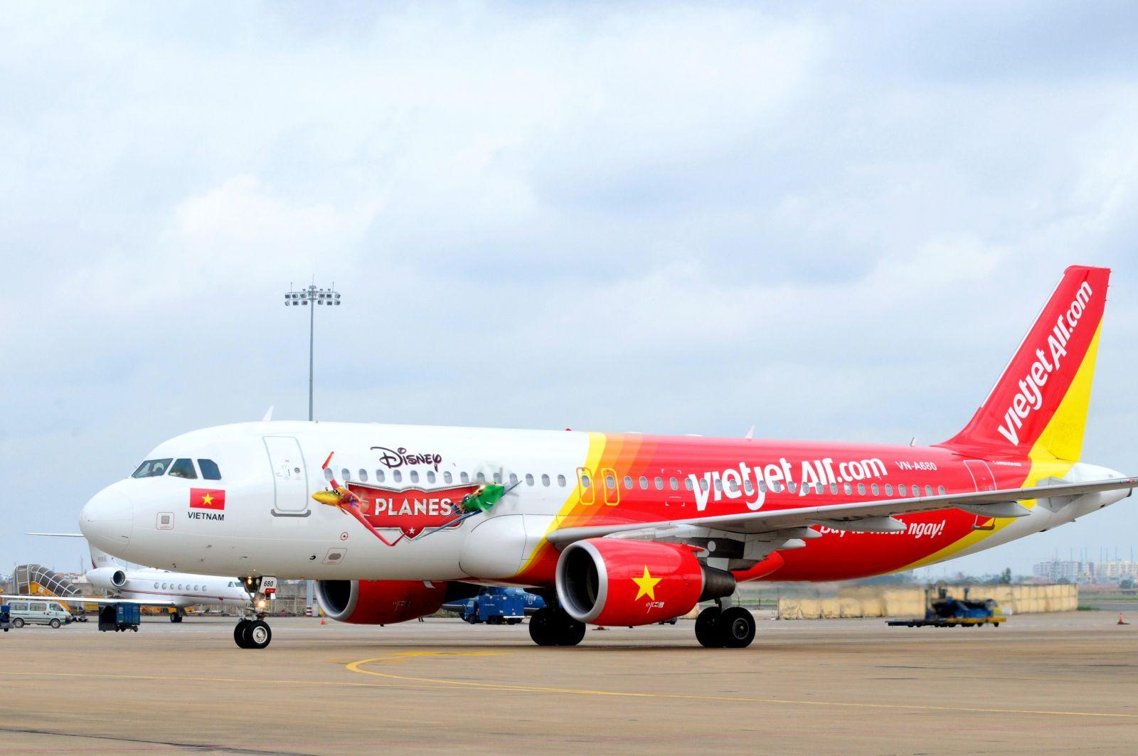 Tàu bay hiện đại của Vietjet