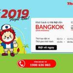 Chỉ 48 USD bay từ Hà Nội đến BangKok