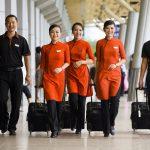 Tiếp viên của Jetstar tại sân bay